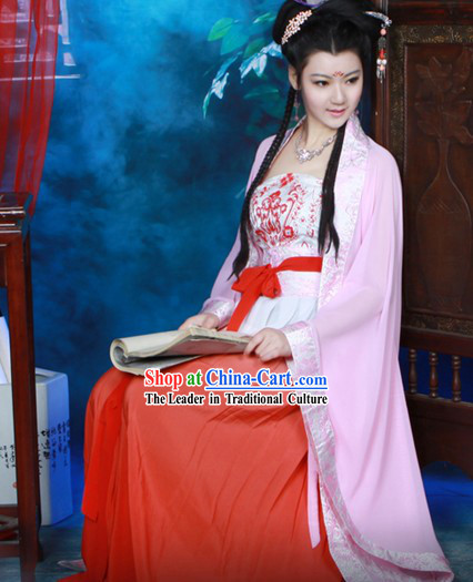 Traditional Chinese Tea Art Master Costume for Women
