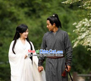 Ancient Traditional Chinese Swordsman Robe for Men