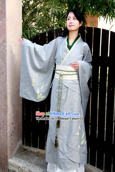 Traditional Ancient Chinese Tea-making Ceremony Costumes for Women