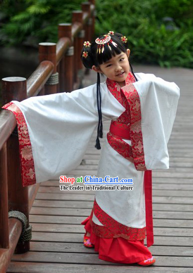 Ancient Chinese Clothing for Female Kids