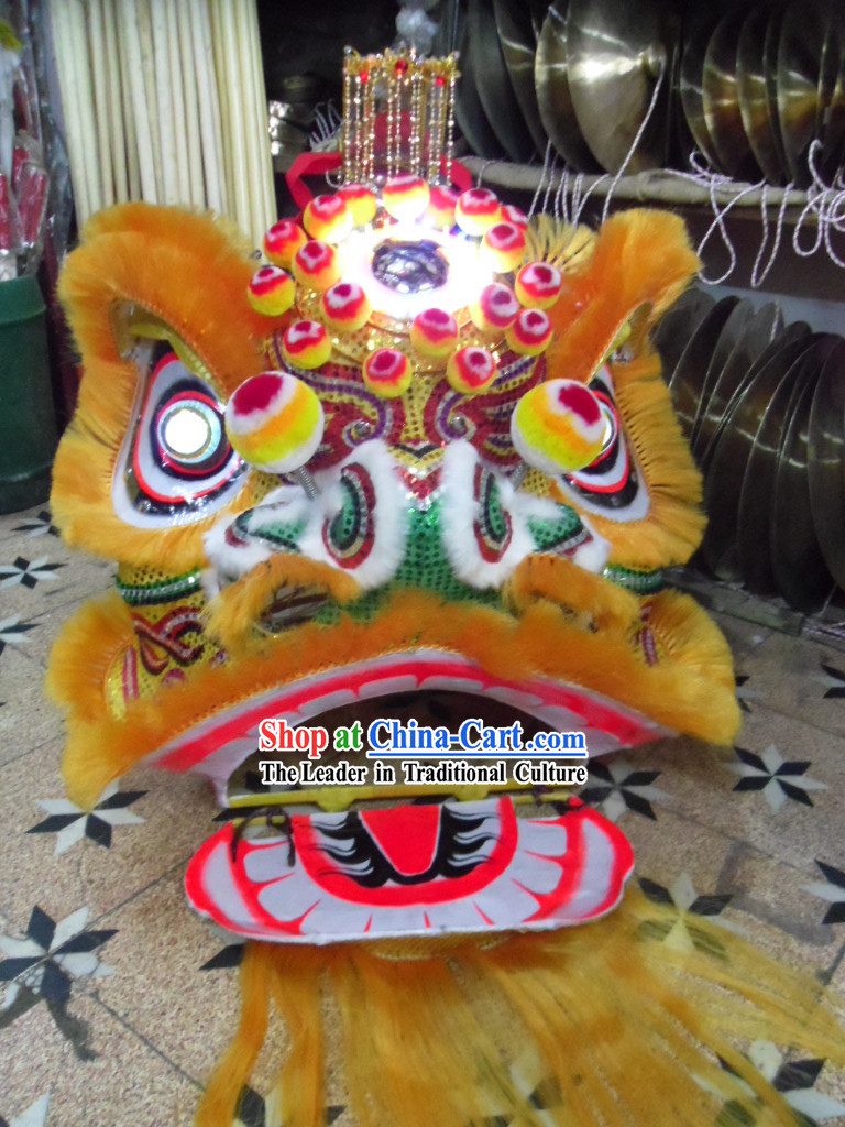 Classical Chinese Lion Dance Costumes Complete Set