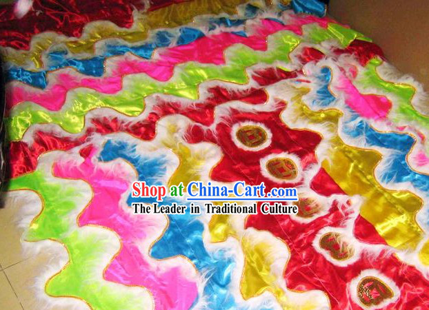 Classic Lion Dance Body Costumes Set