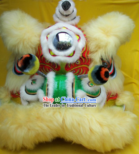 Top Children Size Competition and Parade Lion Dance Costumes Complete Set