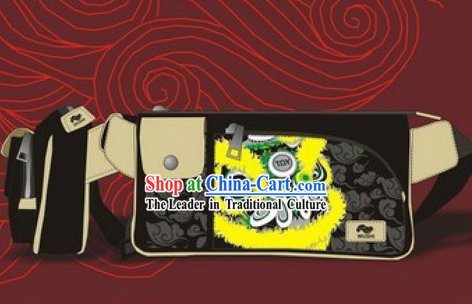 Good Quality Lion Dance Bum Bags