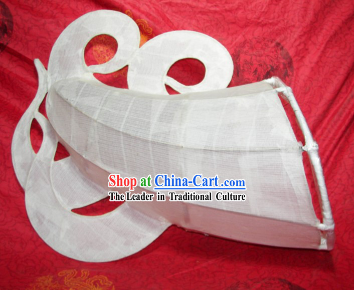Traditional Chinese Handmade Dragon Dance Tail for DIY Painting Creation