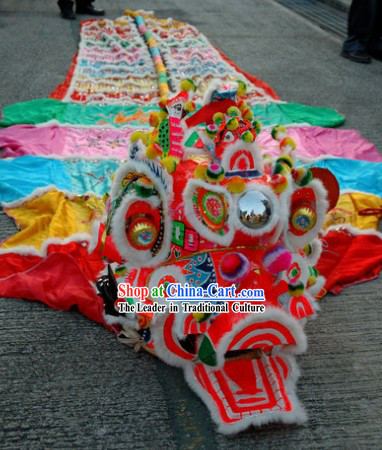 Traditional Chinese Super Kylin Dance Costumes Complete Set