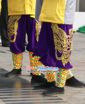 Dragon Dancer Pants and Legs Wrappings