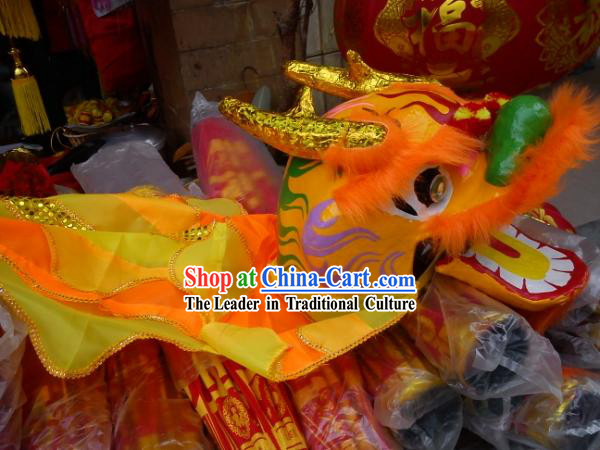 Eight Years Old Children Dragon Dance Props