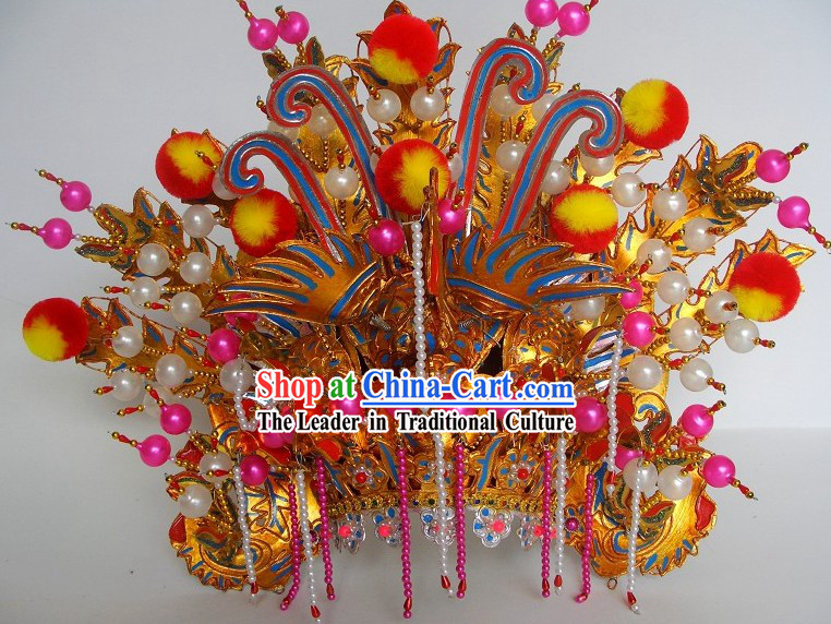 Chinese Traditional Noblewoman Phoenix Crown Headgear