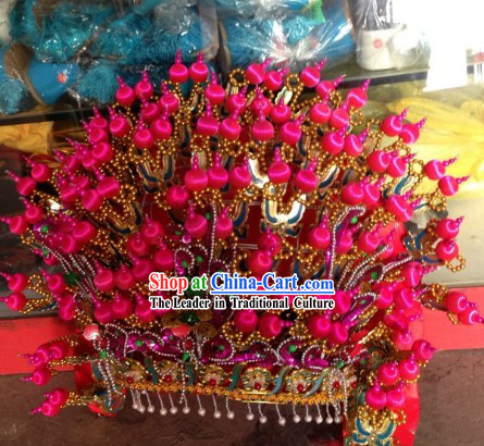 Traditional Chinese Wedding Phoenix Coronet for Women