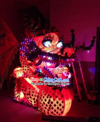 Performance and Parade Chinese New Year Stool Dragon Dance Equipments Arts and Crafts