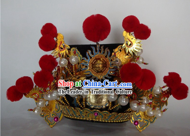 Traditional Chinese Peking Beijing Opera Coronet