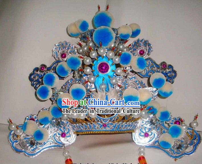 Traditional Chinese Beijing Opera Headgear for Men
