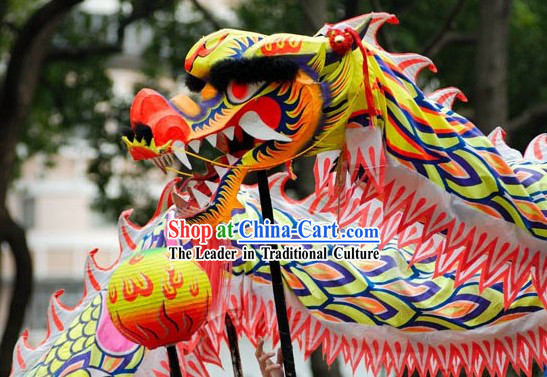 Professional Championship Glow in the Dark Dragon Dance Costume Complete Set