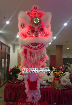 Batteries Powered Luminous LED Lights Lion Dance Equipments Complete Set