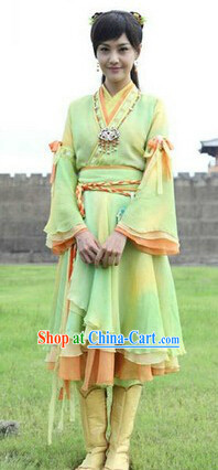 Chinese Ancient Fairy Clothes Complete Set for Women