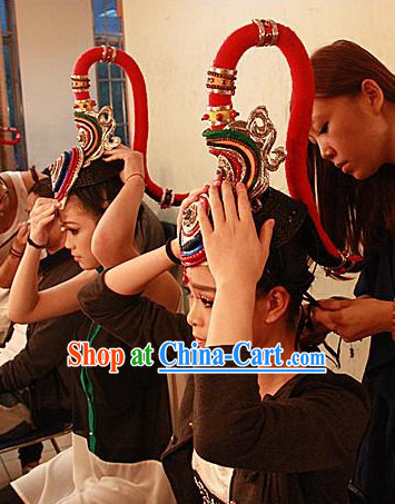 Traditional Chinese She Minority Headwear