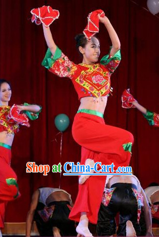 Chinese Handkerchief Dance Costumes