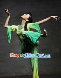 Professional Stage Performance Han Dynasty Dance Costumes for Women