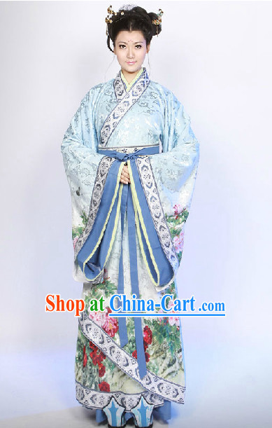 Ancient Chinese Han Imperial Princess Clothing
