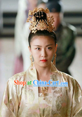 Ancient Korean Imperial Empress Coronet