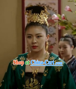 Traditional Korean Empress Headwear