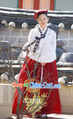 Dae Jang Geum The Great Jang Geum Hanbok Costume for Women