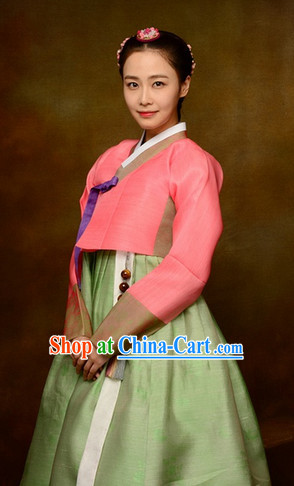 Traditional Korean Hanbok Dress Complete Set