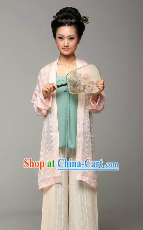 Chinese Classical Han Dynasty Clothes for Women