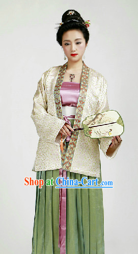 Chinese Classical Song Dynasty Dresses for Girls