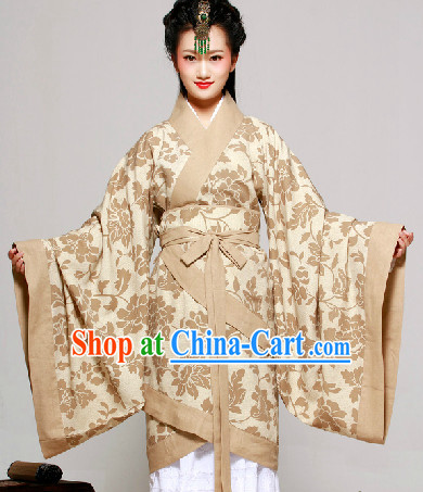 Chinese Classical Hanfu Quju Dresses for Women