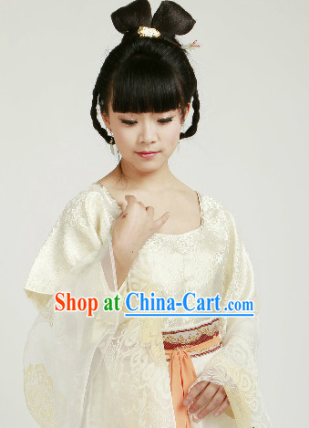 Traditional Chinese Tang Dynasty Lady Clothes