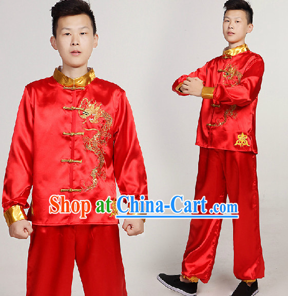 Professional Chinese Waist Dance Costumes for Men