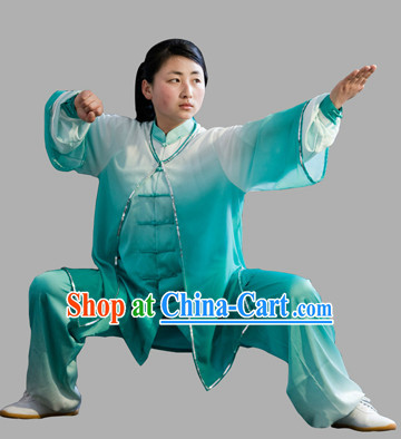 Color Change Butterfly Embroidery Tai Chi and Mantle Complete Set