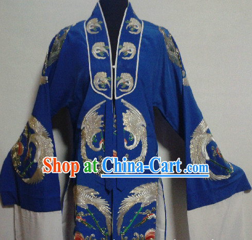 Chinese Ancient Crane Longevity Embroidery Robe