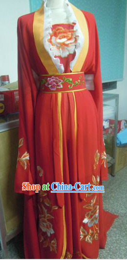 Chinese Romantic Red Wedding Dress