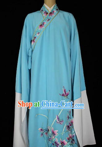 Chinese Ancient Long Sleeves Embroidery Clothing for Boys