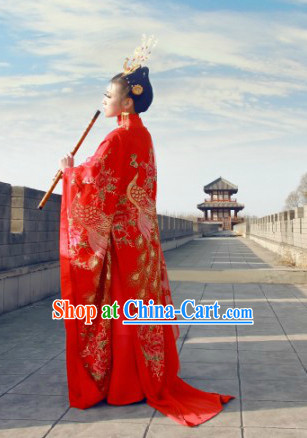Chinese Peacock Empress Costumes for Women