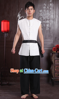 Traditional Chinese Poor People Costumes