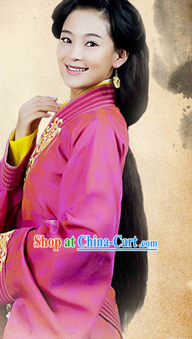 Traditional Chinese Han Long Robe for Women