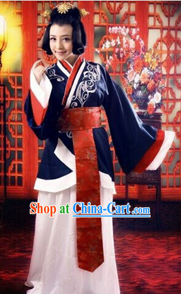 Traditional Chinese Han Dynasty Beauty Costume