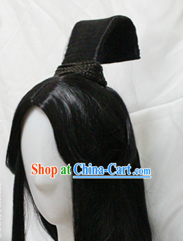 Ancient Asian Long Wig