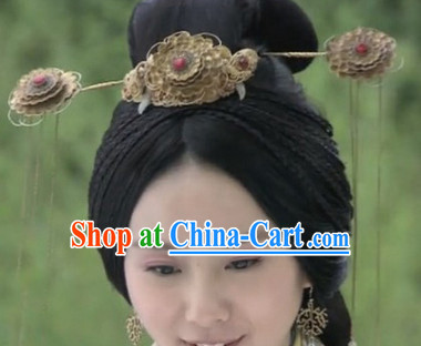 Ancient Chinese Lady Hair Jewelry