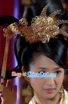 Ancient Chinese Lovely Girl Headwear