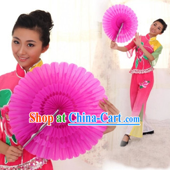 Traditional Cheering Leader Dance Paper Fan