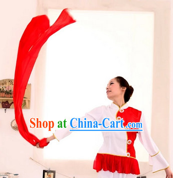 Three Meters Long Red Dance Ribbon