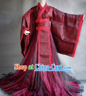 Classical Chinese Prince Hanfu Clothes for Men
