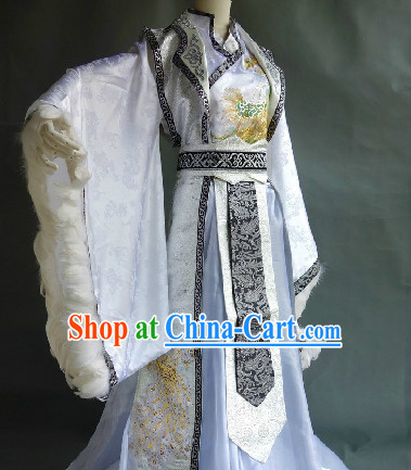 Chinese Stage Performance Classical Teacher Costumes for Men