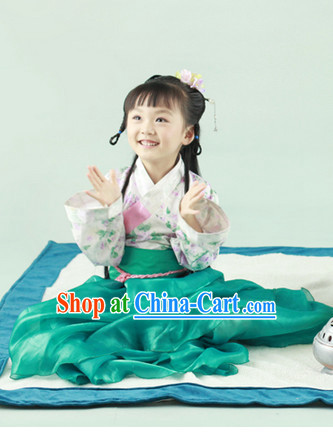 Ancient Chinese Han Fu Clothes for Kids