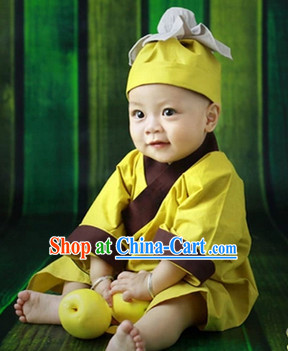 Yellow Uniform and Headwear Complete Set for Children